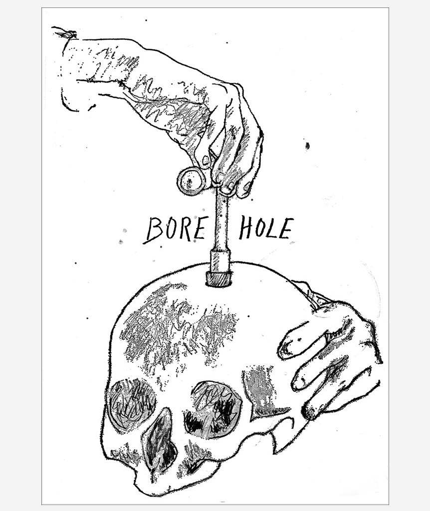 Bore Hole by Joe Mellen}