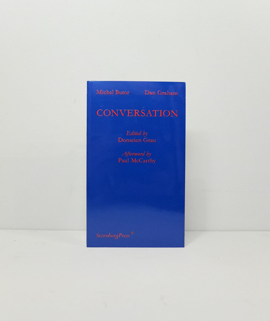 Michel Butor, Dan Graham: Conversation