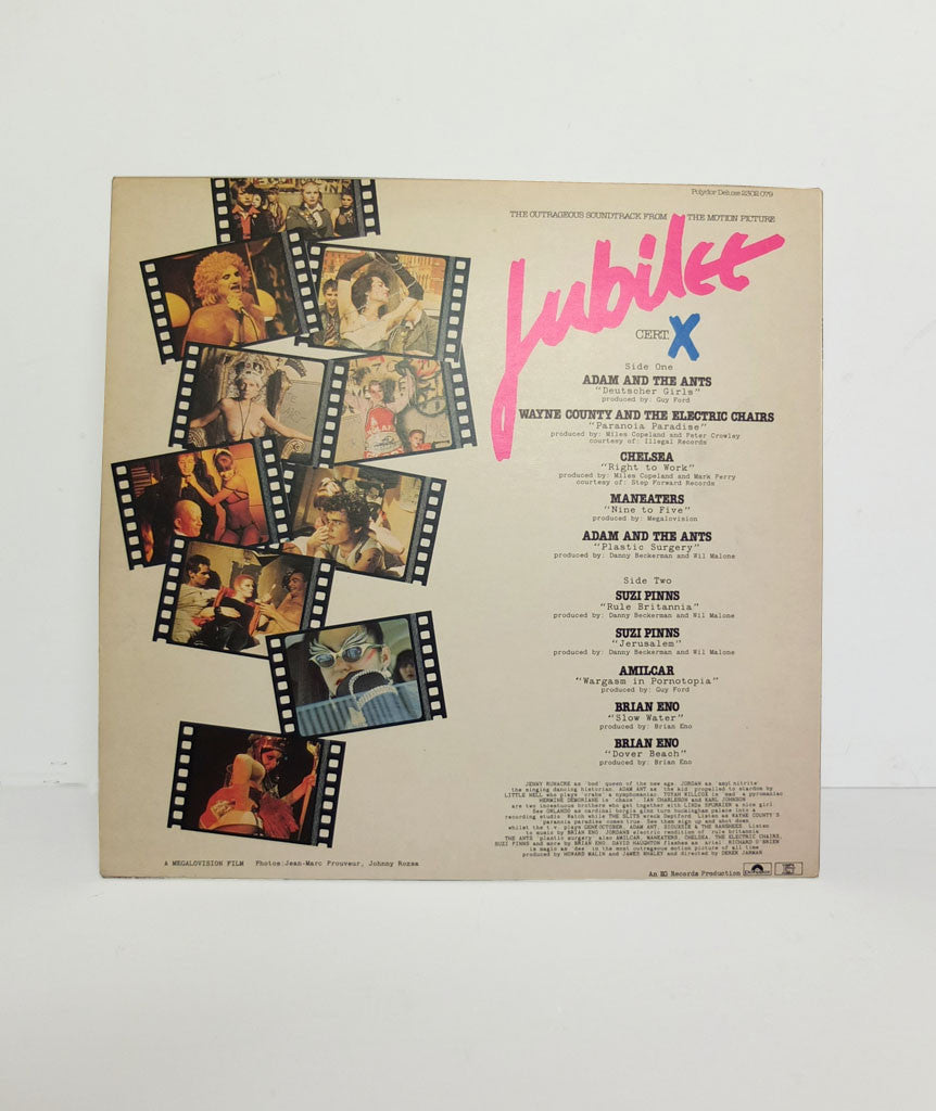 Jubilee (Soundtrack) by Derek Jarman}