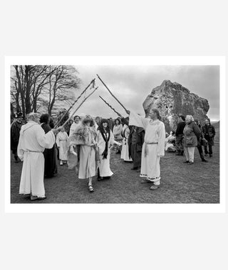 Druids 1996 London Wiltshire Oxfordshire: Homer Sykes}