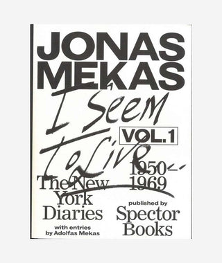 Jonas Mekas: New York Diaries Vol.1}