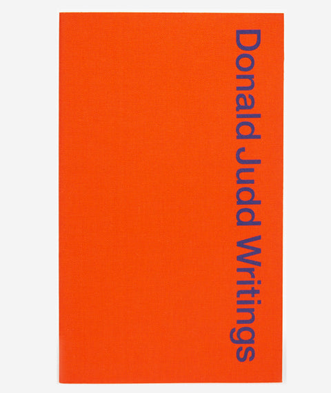 Donald Judd Writings