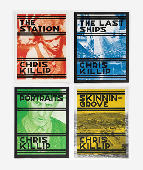Chris Killip - SIGNED series of 4 publications - Skinningrove, The Station, Portraits, The Last Ships