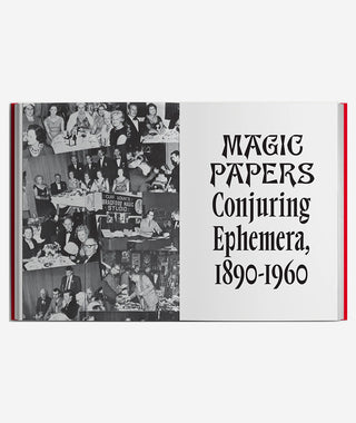 Magic Papers: Conjuring Ephemera, 1890 - 1960}