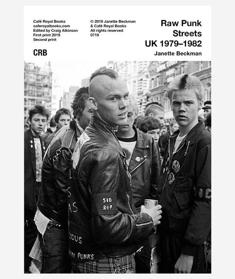 Raw Punk Streets UK 1979–1982: Janette Beckman