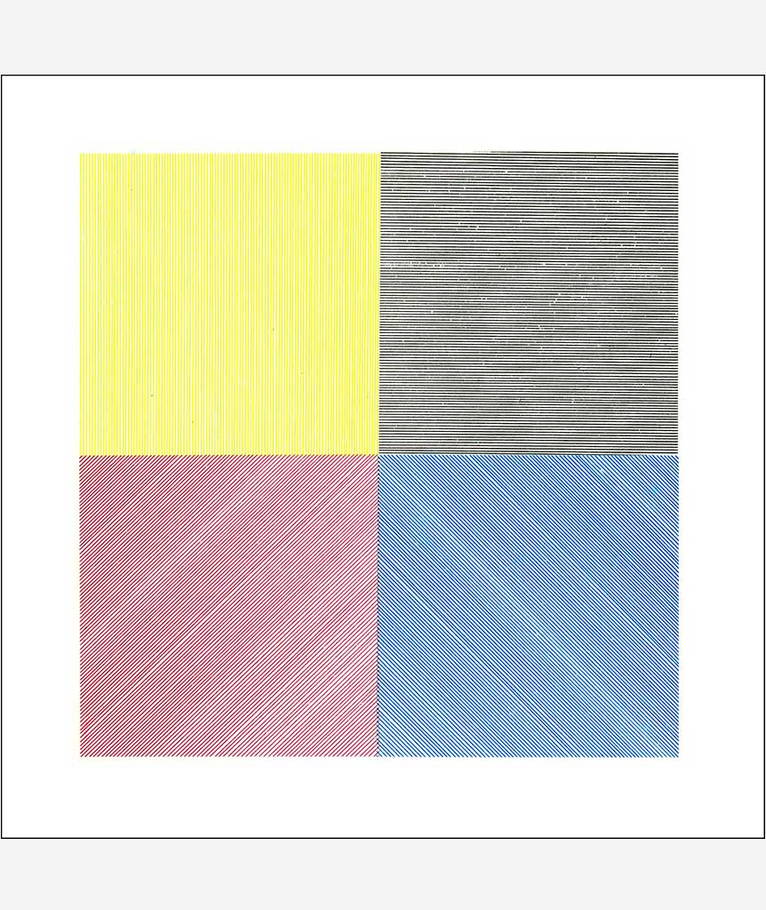 Four Basic Kinds of Lines & Colour by Sol Lewitt}