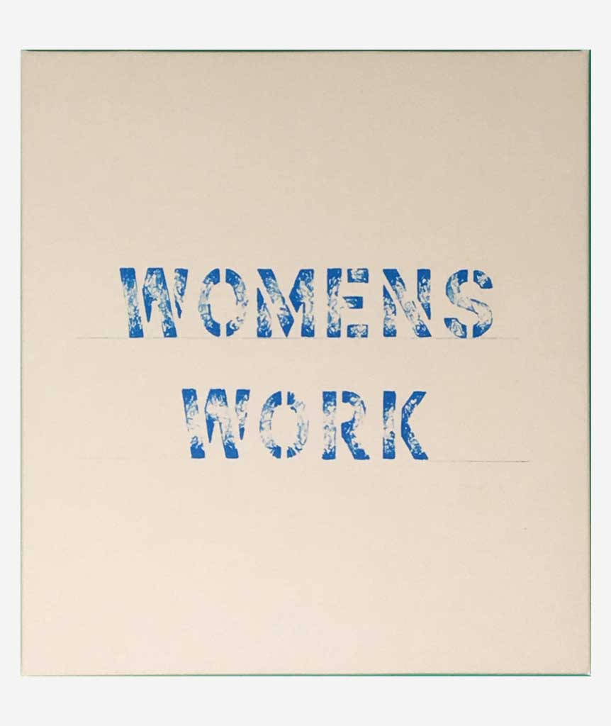 Womens Work by Annea Lockwood & Alison Knowles