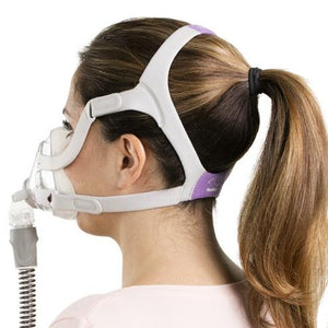 ResMed AirFit™ F20 For Her Full Face CPAP Mask with Headgear (RX Required)