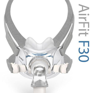 ResMed AirFit™ F30 Full Face CPAP Mask with Headgear (RX Required)