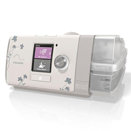 ResMed AirSense™ 10 AutoSet™ For Her CPAP Machine with HumidAir™ Heated Humidifier (Prescription Required)
