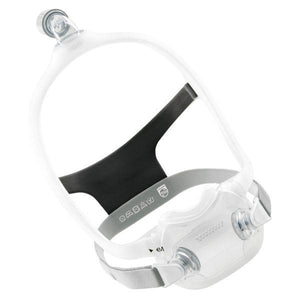 Philips Respironics DreamWear Full Face CPAP Mask with Headgear (Small and Medium Frame Included) (RX Required)
