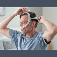 Load image into Gallery viewer, Philips Respironics DreamWear Gel Nasal Pillow CPAP Mask with Headgear - Fit Pack (All Nasal Pillows with Medium Frame)
