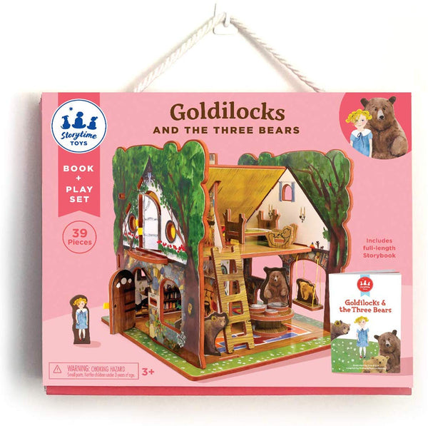 Storytime Toys: Goldilocks and the Three Bears