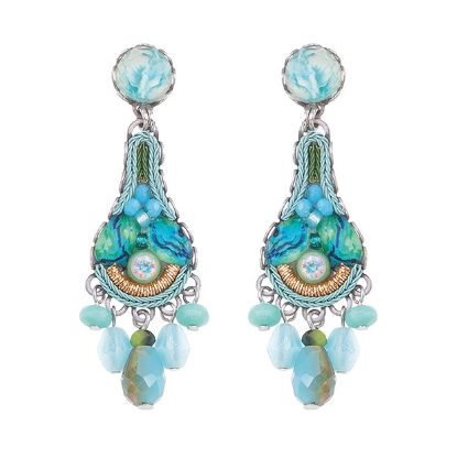 Clear Water Haze Earrings