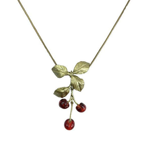 Morello Cherry Necklace