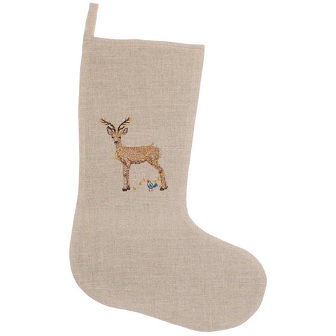 Deer With Lights Stocking