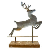 Reindeer on Wooden Stand
