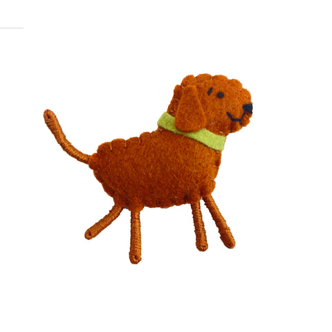 Felted Dog Pins