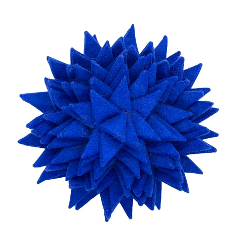 Felted Spiked Pin