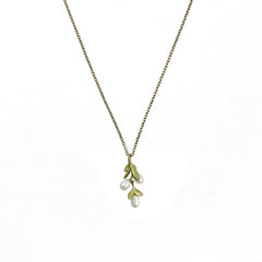 Fine Boxwood Petite Necklace