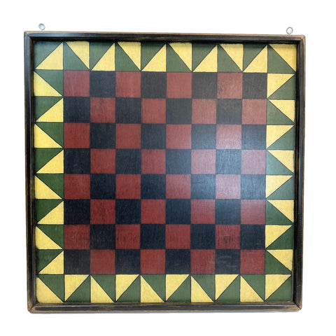 Lindas's Quilted Checkers Board