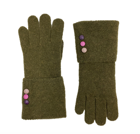 3 Button Folded Glove