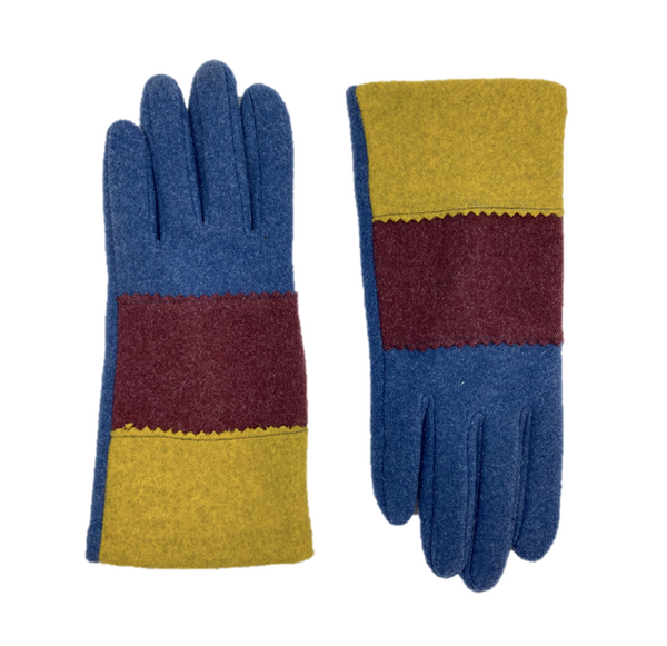 Tricolored Gloves