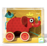 Indy Pull Along Elephant Toy
