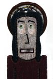 """San Nerviosa"" Wood Carving"