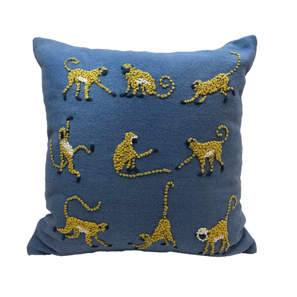 Knotty Monkeys Pillow