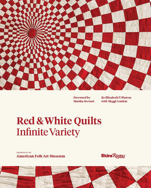 Red & White Quilts: Infinite Variety (Paperback)