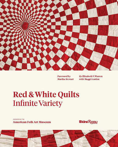 Red & White Quilts: Infinite Variety (Hardcover)