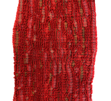 Revati Silk & Wool Red Scarf
