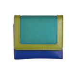 Cool Tropics Small Trifold Leather Wallets