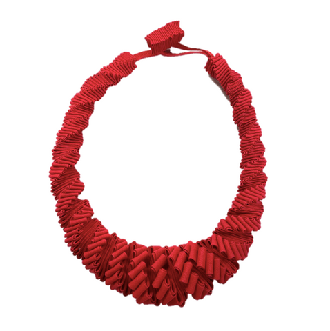 Red Seem Bind Necklace
