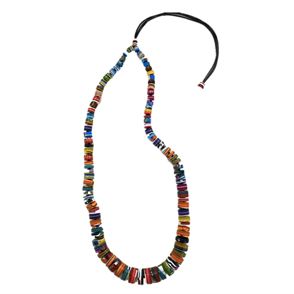 Multi-color Resin Necklace