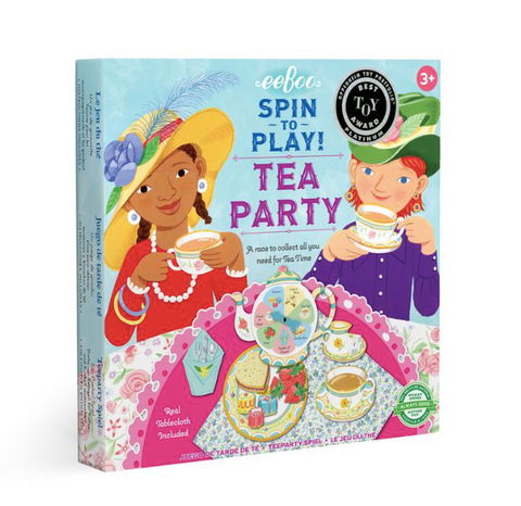 Spin to Play, Tea Party Game