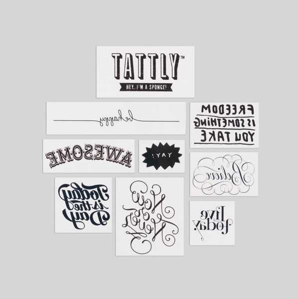 Inspirational Temporary Tattoos
