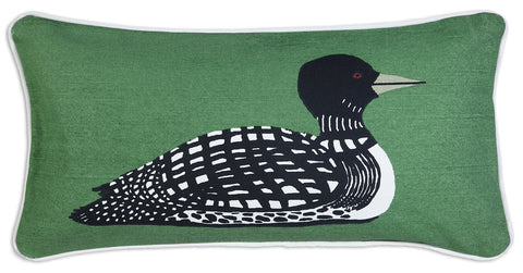 Tranquill Loon Pillow