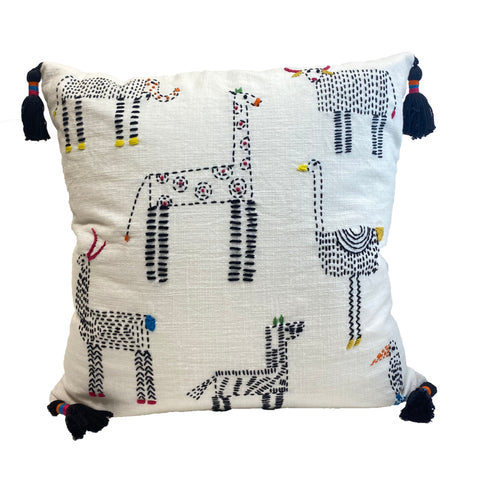Tribal Fauna Pillow