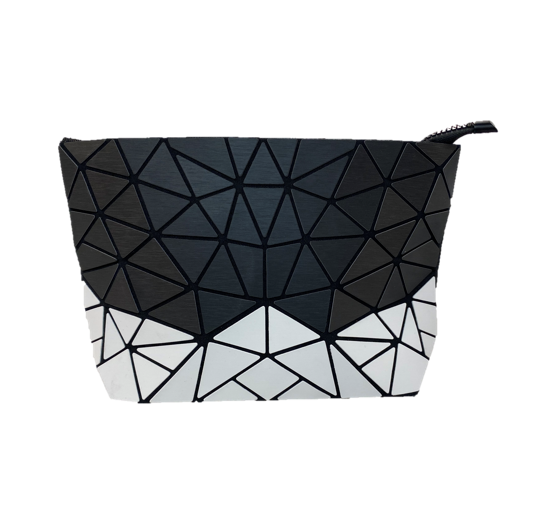 Double Colored Geo Clutch