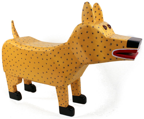 """Sparky"" the Wooden Dog"