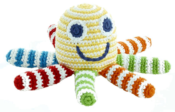 Octopus Rattle (Rainbow)