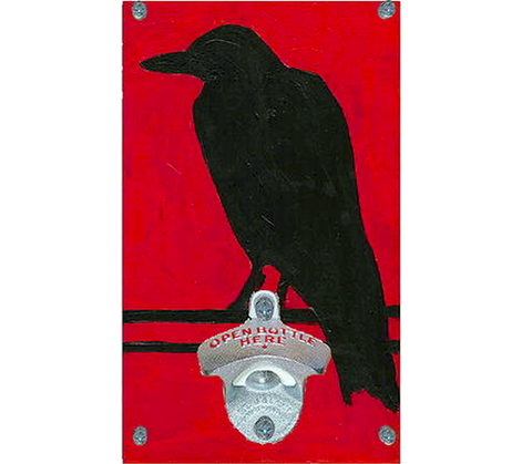 Crow Bottle Opener