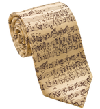 Music Notes Tie