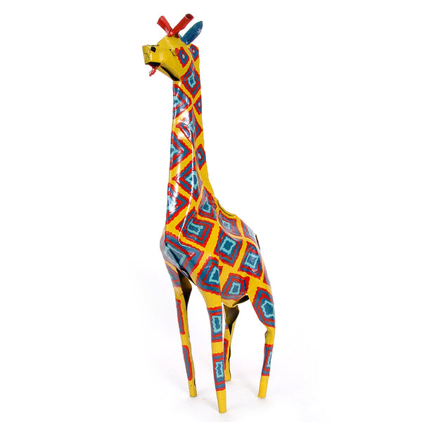 Painted Tin Giraffe
