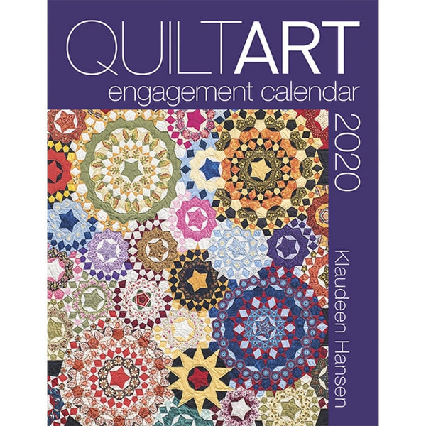 Quilt Art Engagement Calendar 2020