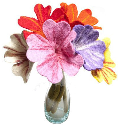 Bouquet of Felt Flowers
