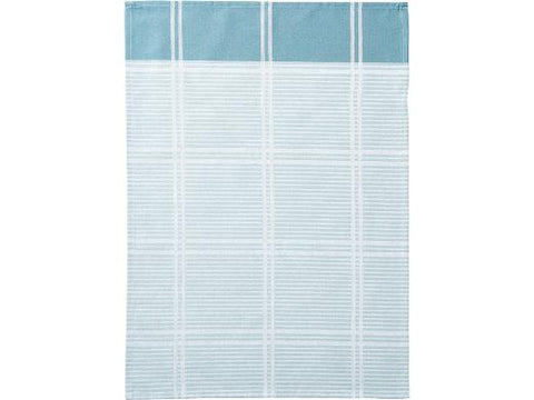 Check it Out Teatowel teal
