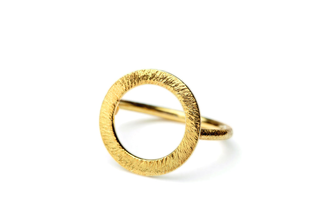Open Coin Ring